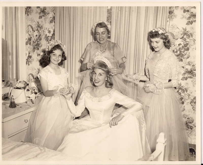 Mom (Carol Delaney) gets married...