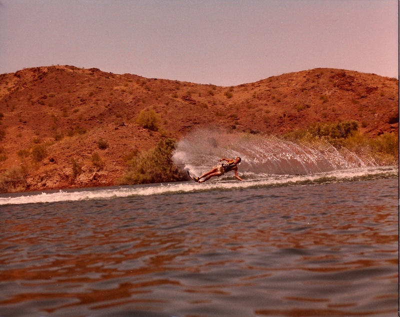 Gary skiing in Lake Havasu City, AZ