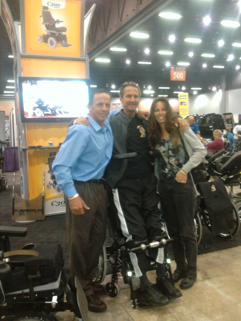 Gary, Mary, and I at Expo