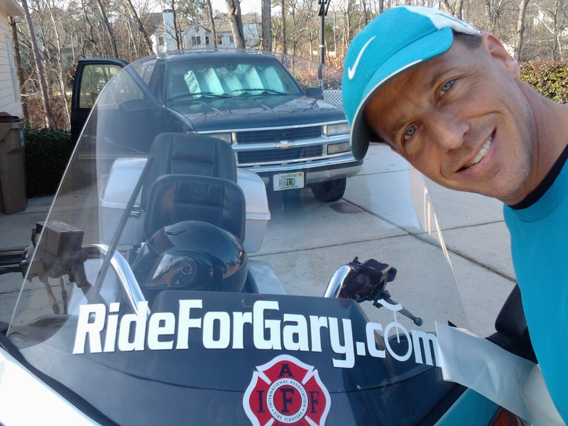 RideForGary Continues...